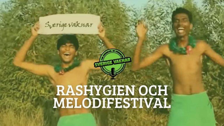 Rashygien och melodifestival (Sverige vaknar #328)
