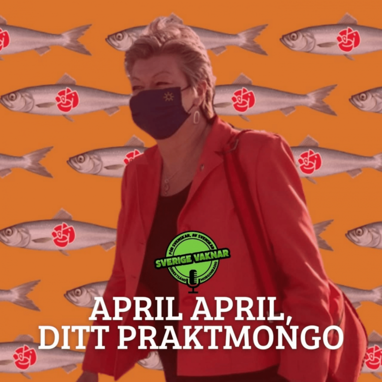 April april, ditt praktmongo (Sverige vaknar #350)