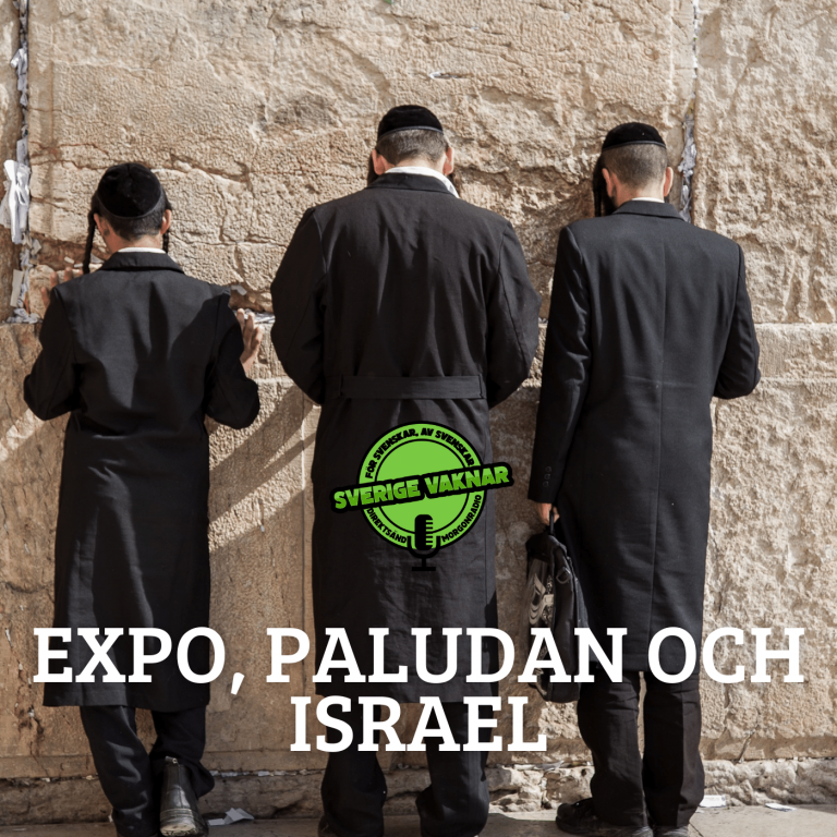 Expo, Paludan och Israel (Sverige vaknar #366)